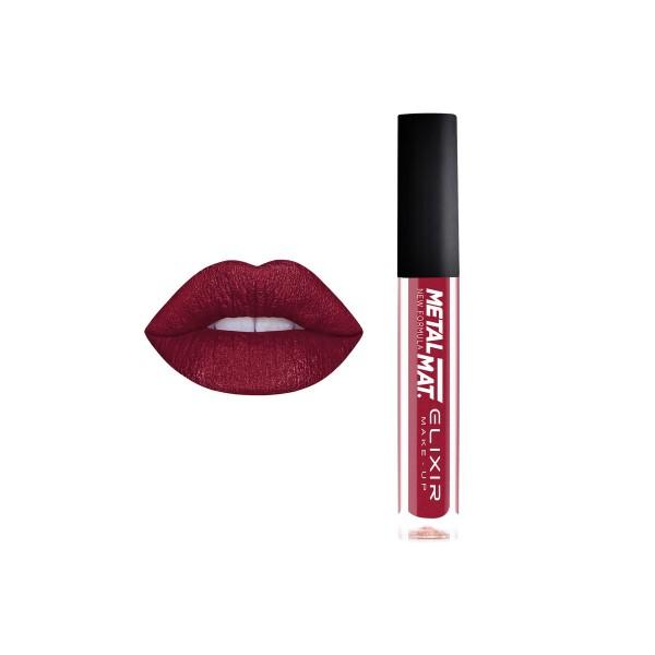 Liquid Lip Metal Mat. – #376 (Crimson)