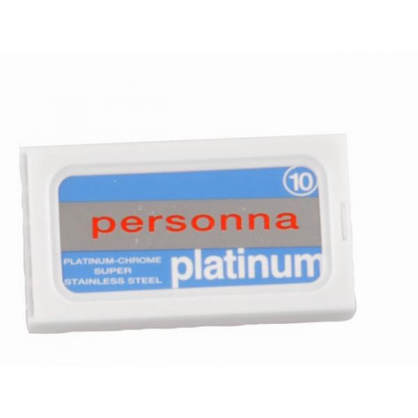 Ξυραφάκια Personna Platinum-Crome 10 τεμ.