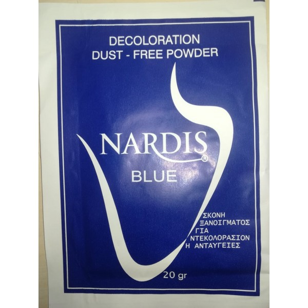Decoloration Dust-Free Powder Nardis Blue